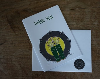 Thank You // Greetings Card