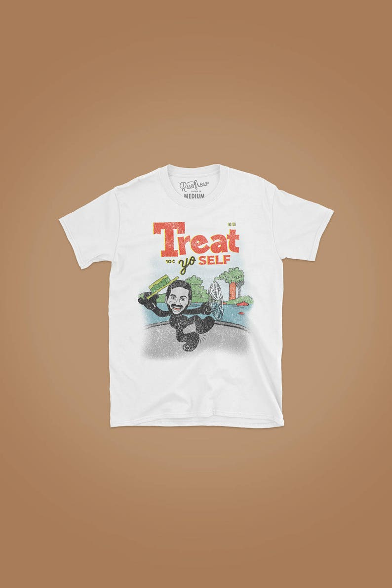 Treat Yo Self T-shirt image 0