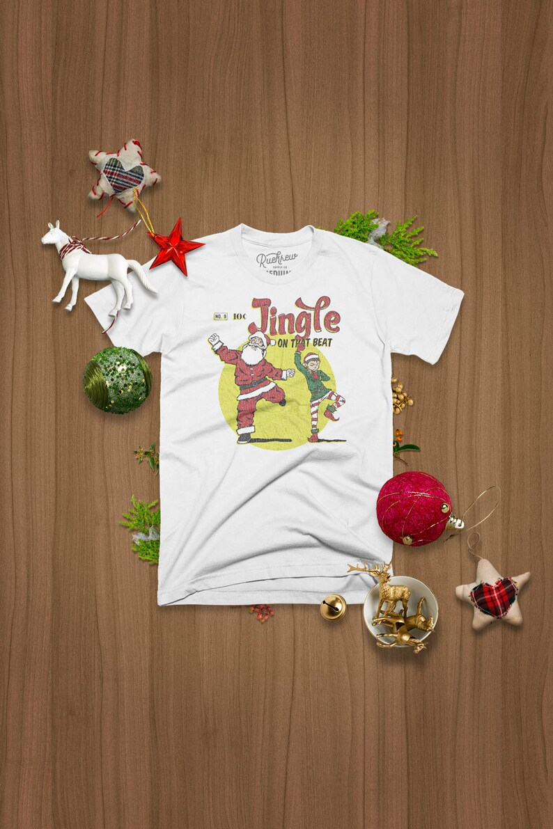 Jingle On That Beat Christmas T-shirt image 0