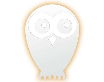 Lamp of wall OWL. Lamp led to child room. Animal-shaped lamps. Apply of wall OWL. Apply for children