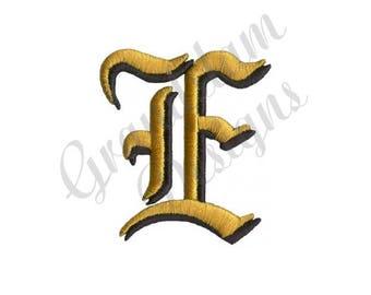 Old English Letter E