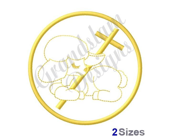 Cordero Pascual diseño de máquina del bordado   Etsy
