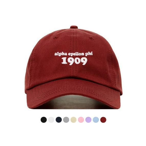 18fabb3b740 Alpha Epsilon Phi Year Baseball Hat Embroidered Baseball Cap