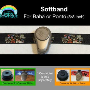 Vader Villain Inspired DIY or softband for Baha Ponto Connector sold separately