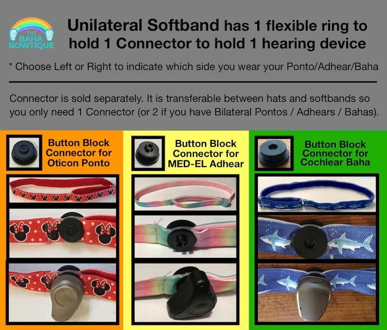 DIY or softband for Baha Ponto Adhear Daisy Connector sold separately