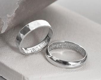 Sterling Silver Secret Message Ring