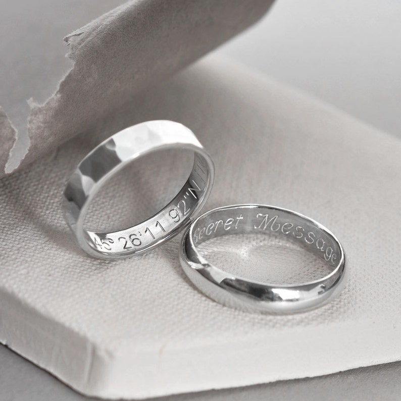 Personalized Secret Message Ring