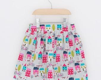 Charlotte gathered skirt