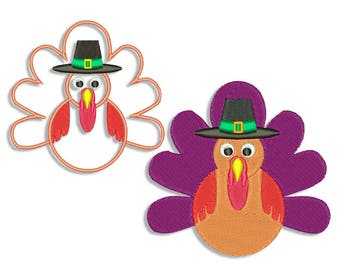 Thanksgiving Embroidery design - Machine embroidery design