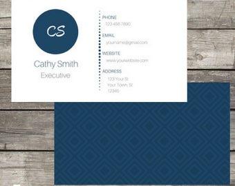 Business Card Digital File