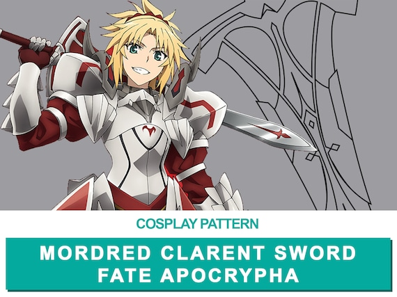 Anime Fate//Apocrypha Mordred Cosplay Necklace Pendants Chains Accessories Gift