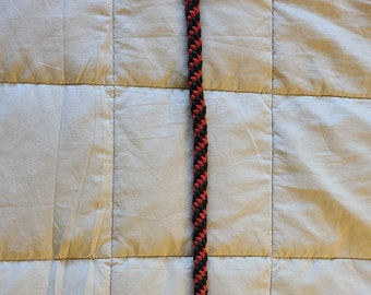 Wallet Chain: Red and Black Twist
