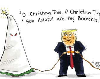O Christmas Tree Trump
