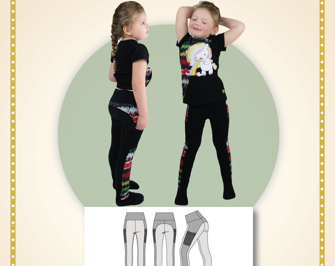 Lithops leggings kids Printed pattern