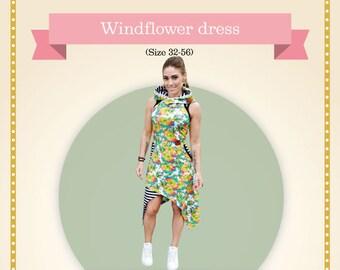 Windflower Adult Printed sewing pattern