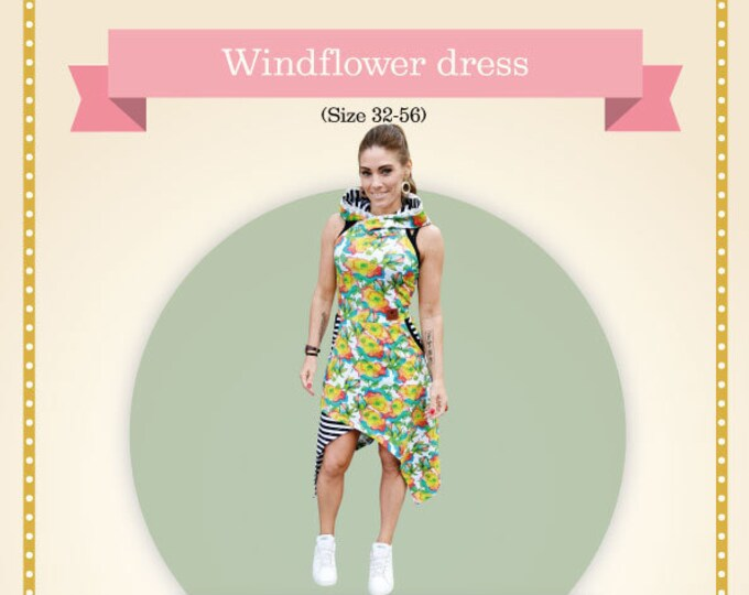Windflower Adult Printed sewing pattern