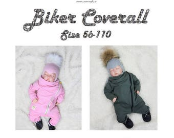 Biker Coverall 56-110 (physical)