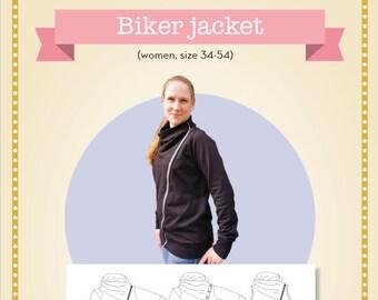 Biker jacket women 34-54 (Physical)