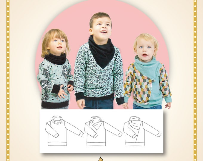 Your choice sweatshirt kids Printed pattern