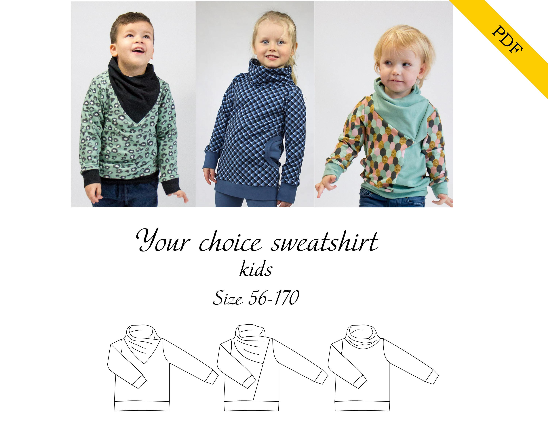 Your choice sweatshirt PDF sewing pattern 9d13788b7