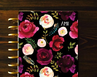 Planner COVER, Black Planner Cover, Laminated Covers, Mambi Cover, Discbound Covers, Happy Planner Cover, Recollections Cover, Mambi Covers