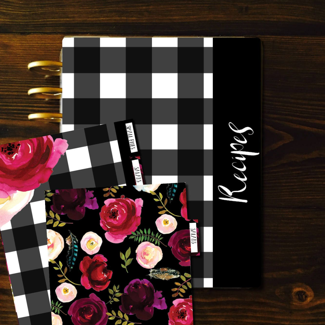 Recipe Binder Kit Dividers Custom Recipe Book Recipe