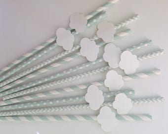 Cloud Straws Set of 12