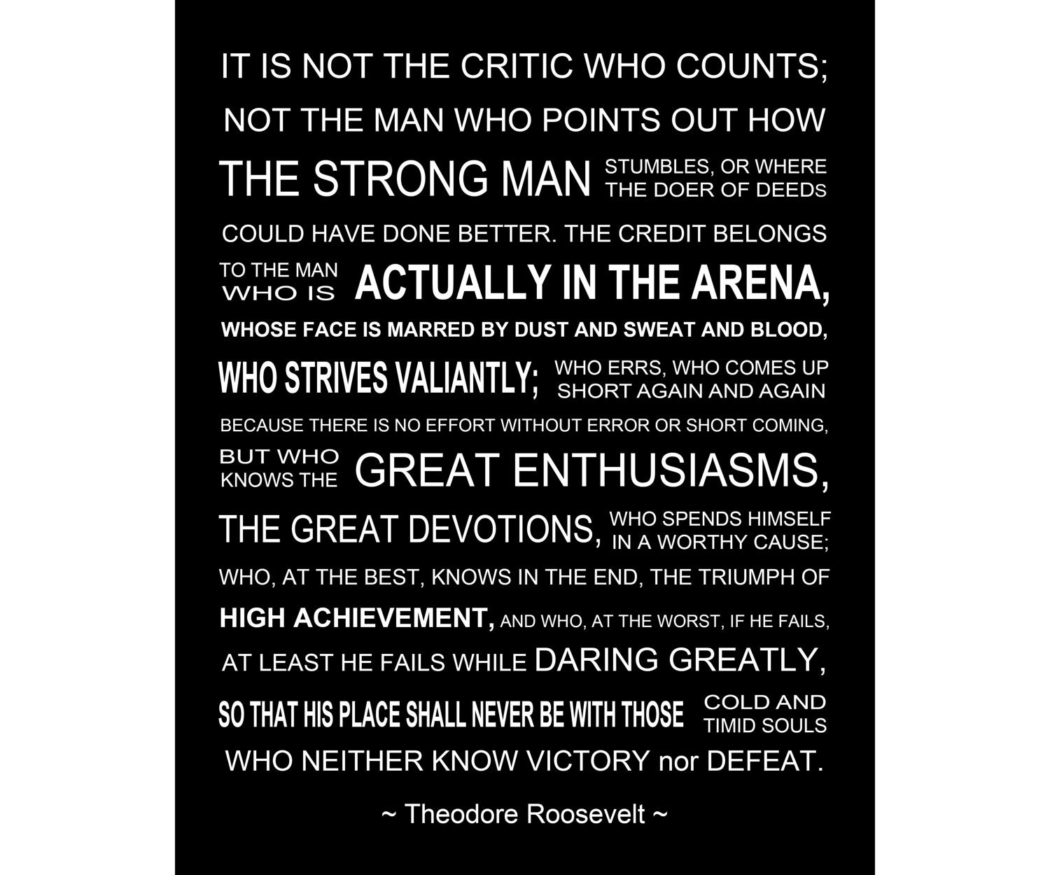 Fan image intended for man in the arena free printable