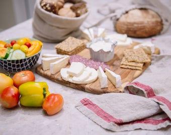 Linen Kitchen Towel, washed linen kitchen towel, natural linen dish towel, dish towel, hand towel, linen towel, healthy textile