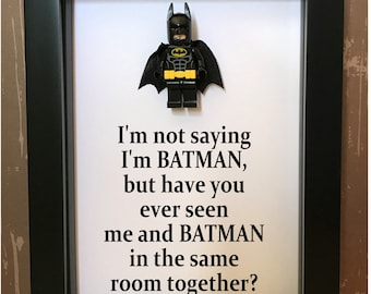 Batman Gifts For Him Etsy