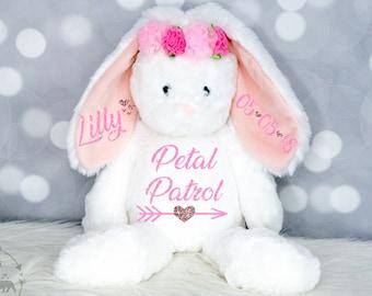 Flower Girl Stuffed Animal Etsy