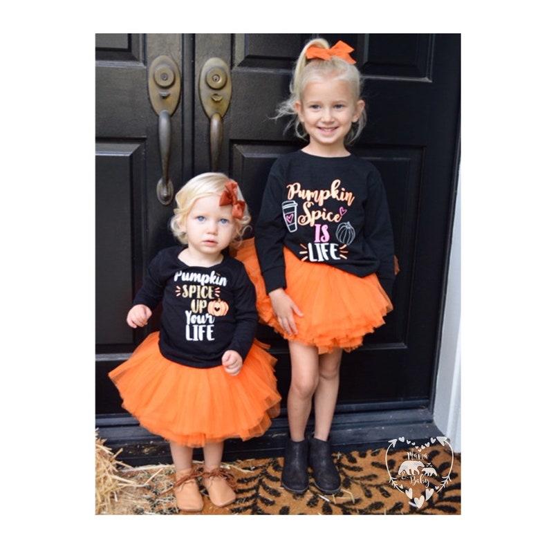 Toddler Girls Pumpkin Spice Is Life Shirt  Pumpkin Spice Date image 0