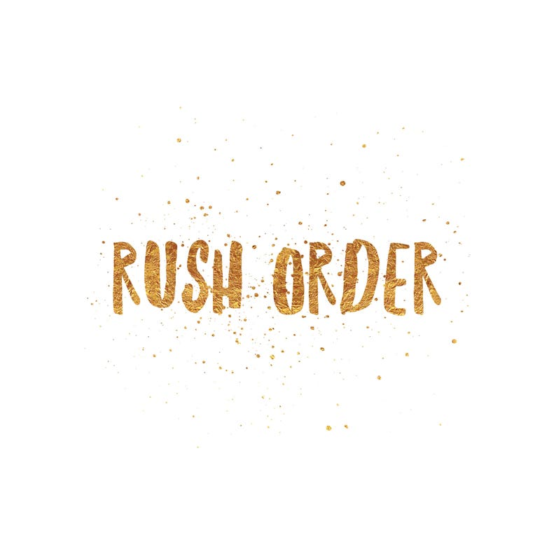 Rush Order Add On image 0