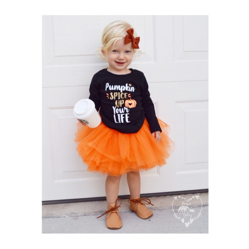 Toddler Girls Pumpkin Spice Up Your Life Long Sleeve Shirt  image 0