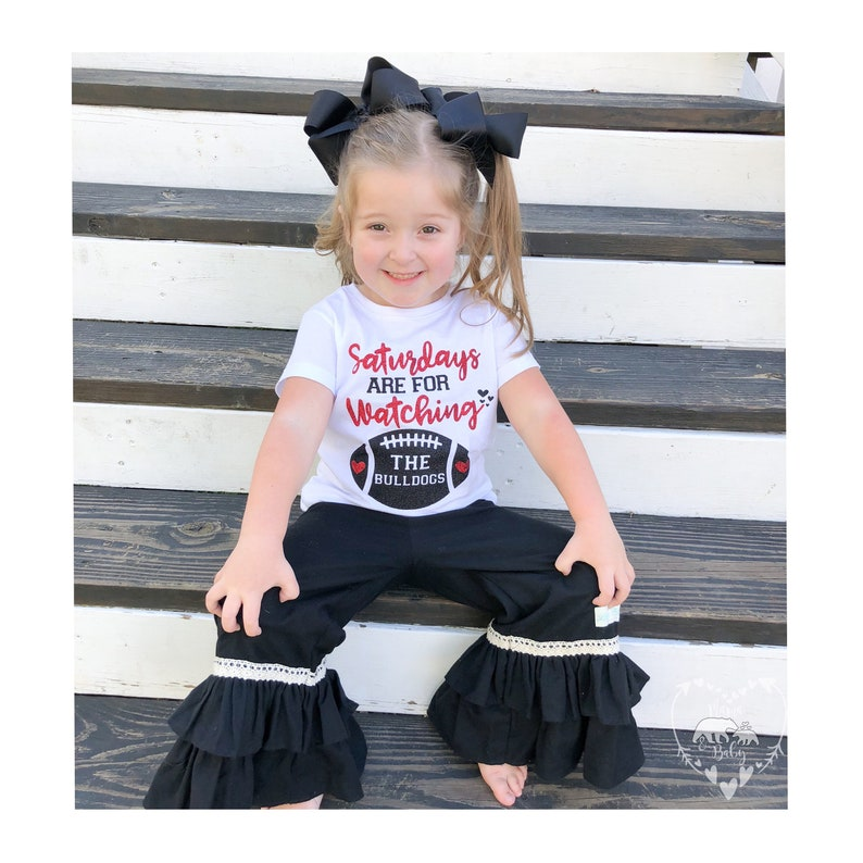 Georgia Bulldogs Onesie  Sundays Are For Football Shirt  image 0