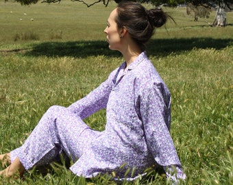 Lavender Queen Pyjamas