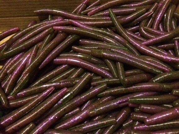 50ct free shipping soft plastic worms