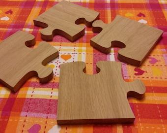 Wooden Puzzle Pot