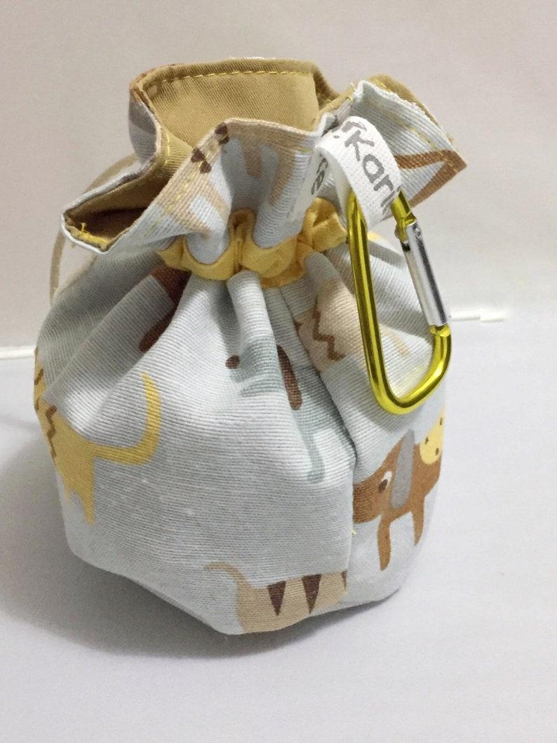 personalized dog treat bag
