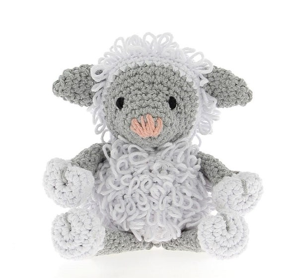 Hoooked Elephant Mo (stone grey) maxigurumi crochet kit & pattern ... | 560x570