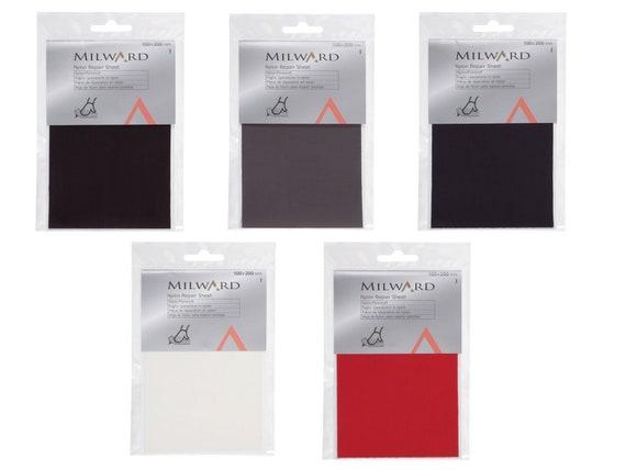 2x Self Adhesive Nylon Sticker Cloth Patch Mending Down Jacket Tent Repair SG