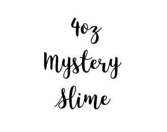 4oz MYSTERY SLIME -homemade in uk free shipping uk seller