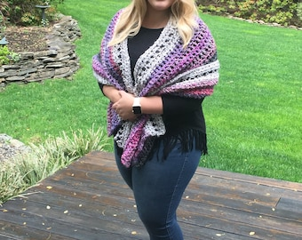 Jersey City Girl Shawl/Wrap