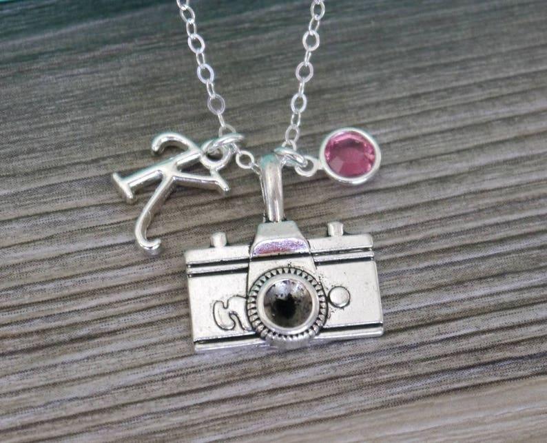 c6c9b878087b Camera Necklace Personalized Camera Necklace Photographer
