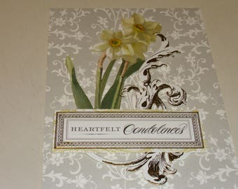 Heartfelt Condolences Card