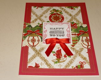 Happy Christmas To You Card