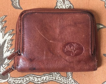 Vintage 90's Trifold Leather Wallet