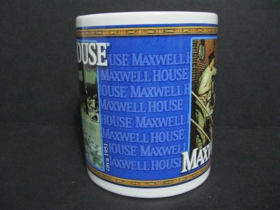 Vintage Maxwell House Coffee Mug Houston Harvest Mug