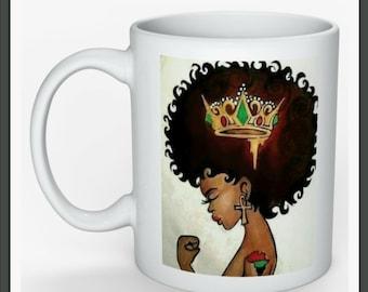 Black Girl Magic Afrocentric Tea/Coffee Mug