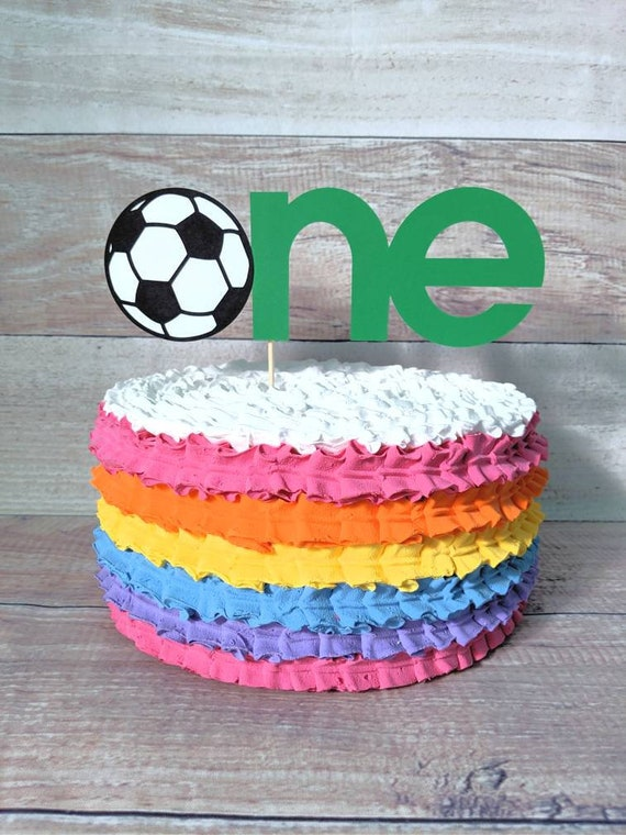 Tremendous Soccer Cake Topper Smash Cake Soccer Birthday Soccer Party Etsy Personalised Birthday Cards Paralily Jamesorg